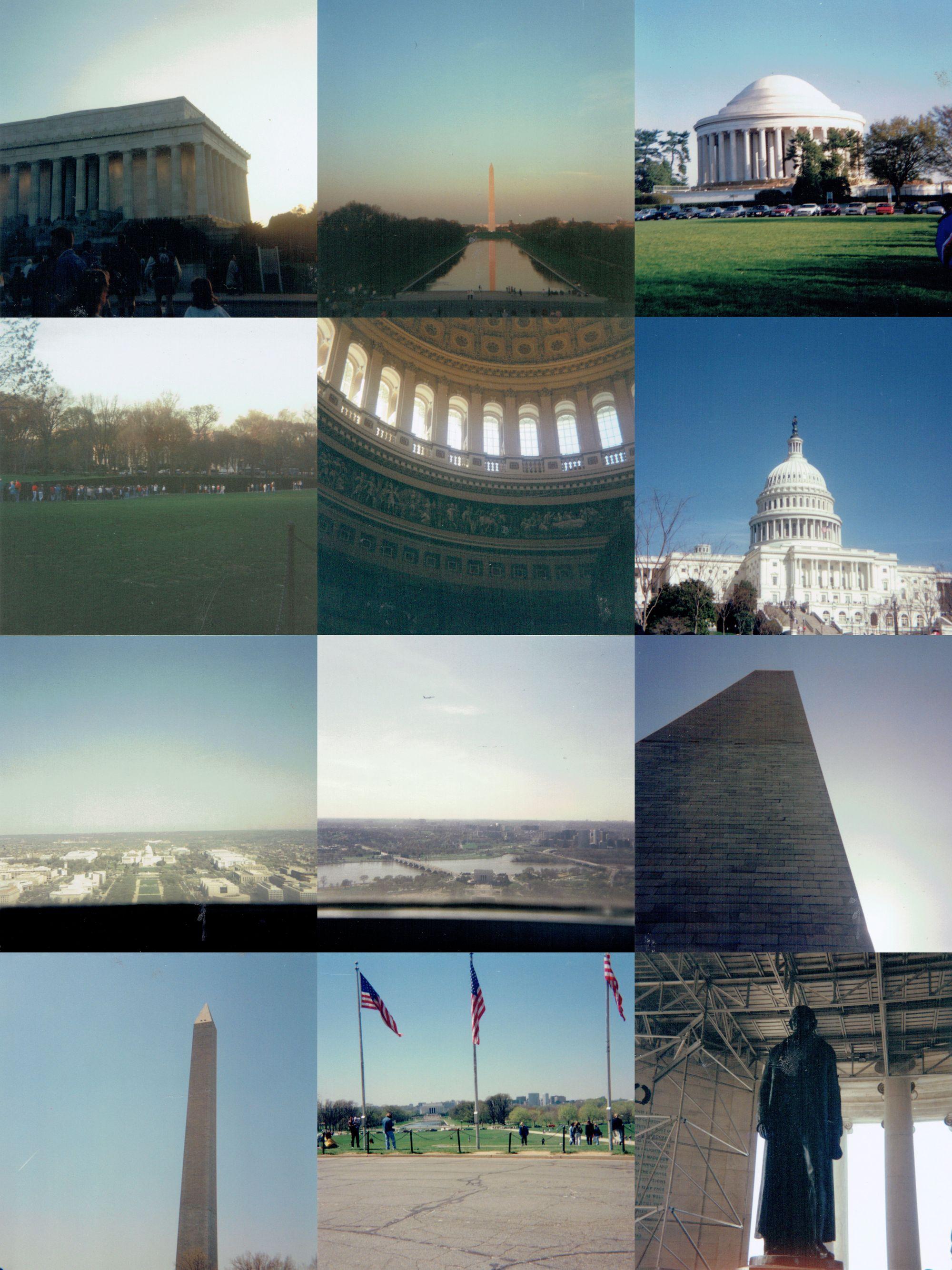 Photos of Washington, D.C. in 1994